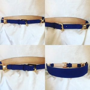 Vince Camuto Genuine Leather Belt